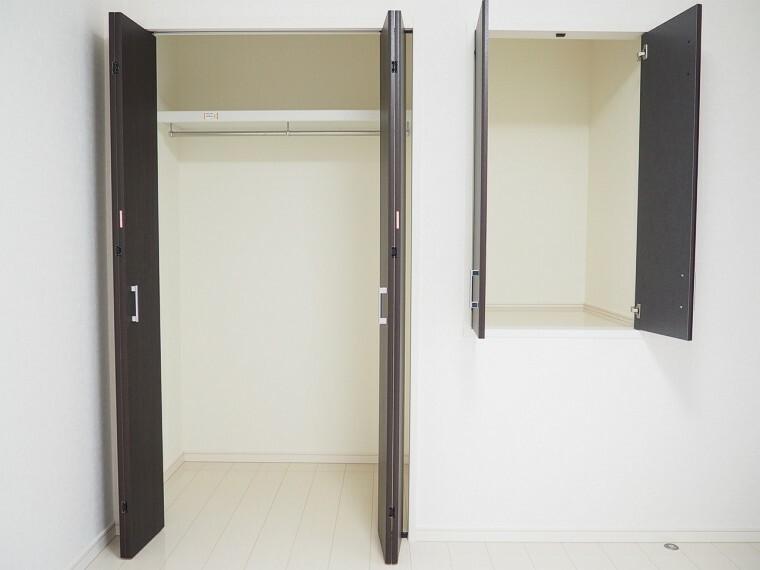 専用部・室内写真 収納  全居室に収納付きでお部屋がスッキリお使いいただけます