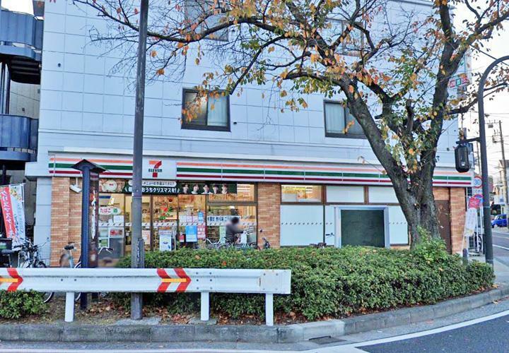コンビニ セブン-イレブン横浜本牧三渓園店