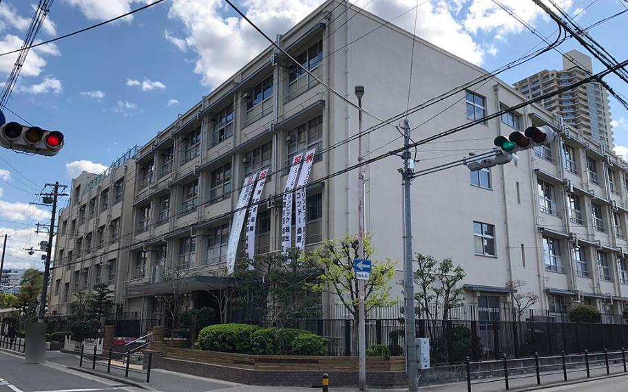 中学校 大阪市立蒲生中学校
