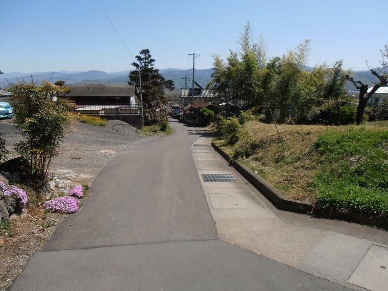 現況写真 東側前面道路を含む外観