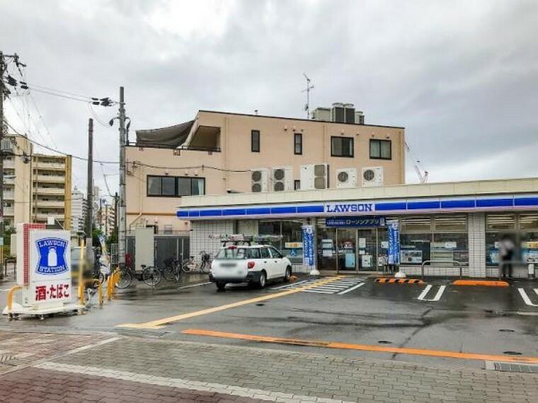 コンビニ ローソン 阪急崇禅寺駅前店 約800m 徒歩10分
