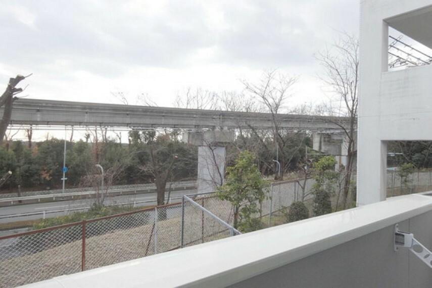 バルコニー バルコニーからの眺め(南西方向)[2021年2月3日撮影]