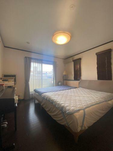 寝室 落ち着いた雰囲気が素敵な寝室