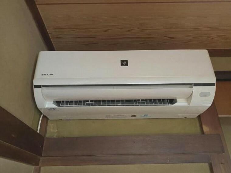 冷暖房・空調設備 エアコンも設置されています。