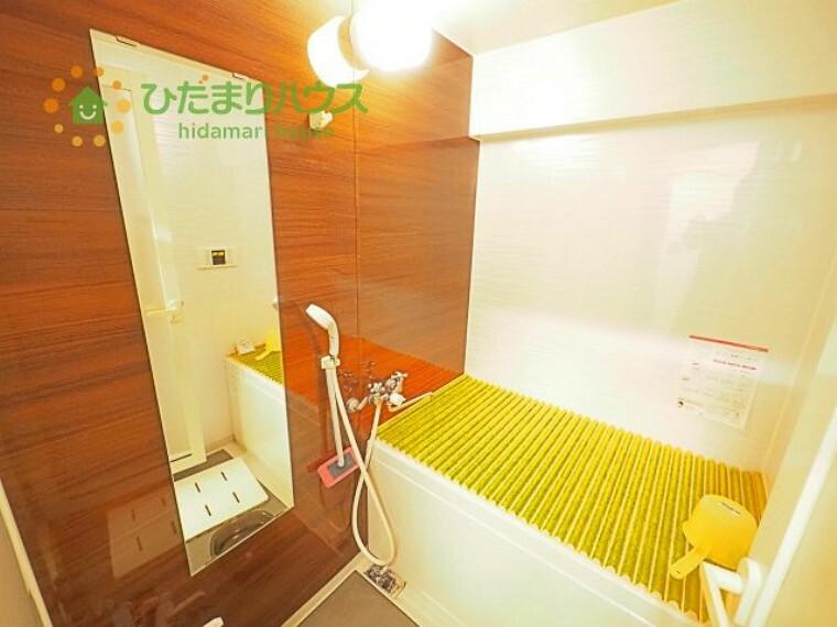 浴室 半身浴もゆっくり楽しめる広々浴室(^^