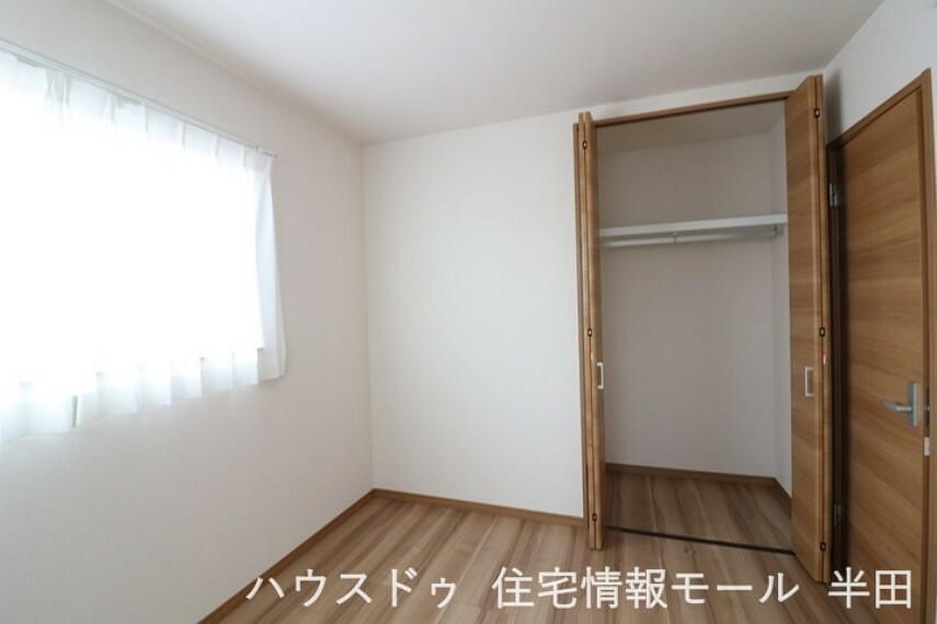 収納 全居室収納付なので居住スペースもすっきり使えます。