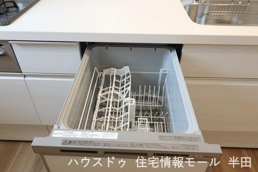忙しい朝に役立つ食器洗浄乾燥機付