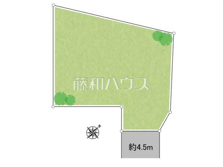 区画図 区画図 【国立市谷保】