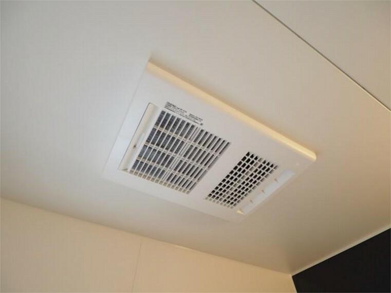 浴室 梅雨時期のお洗濯もこれで安心!暖房・冷風機能も付いています