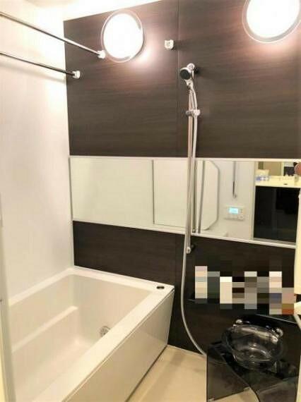 浴室 バスルームもキレイに使用されています。