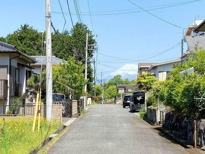 現況写真 富士山が見えます。