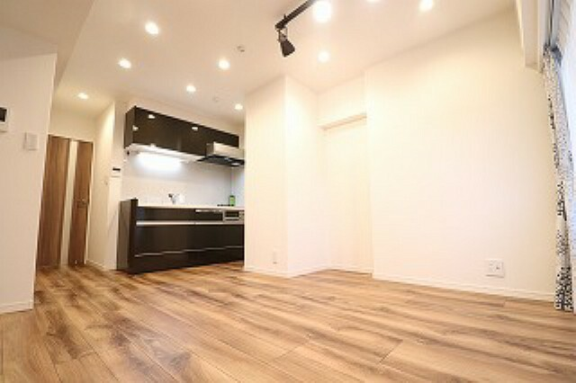 居間・リビング オシャレでモダンな室内。