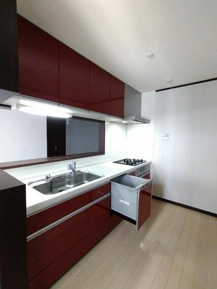 キッチン 【システムキッチン】 後片付けもラクラクな食洗機付
