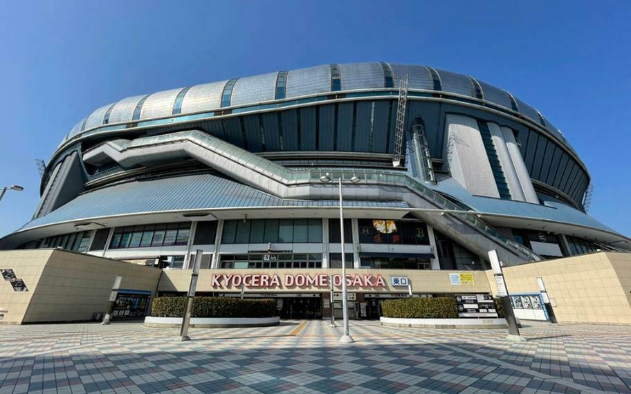 京セラドーム大阪まで1300m 野球にコンサートなどのイベントも自転車圏内はうれしいですね。