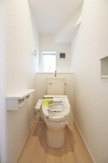 トイレ 【1号棟】温水洗浄便座(1F・2F)