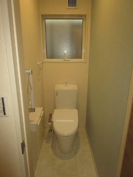 トイレ 1階・2階にあるので忙しい朝も安心です (2021年9月11日撮影)