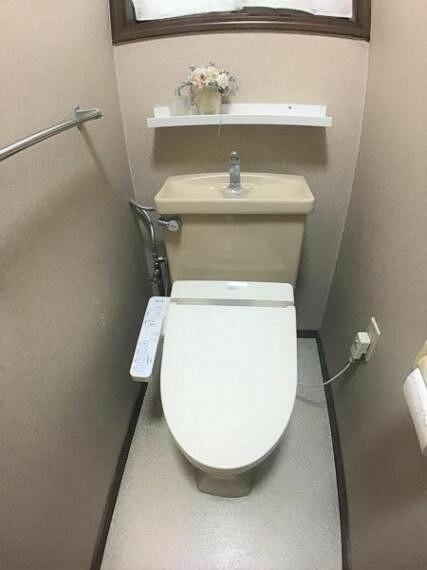トイレ ゆったり落ち着く自分だけの時間を作るにはちょうど良い広さです。