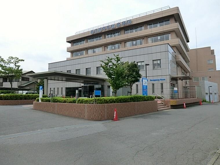 病院 春日部中央病院650m