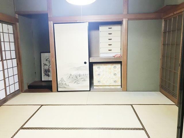 和室 1F和室6帖(床の間)