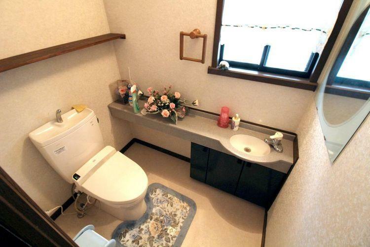 トイレ 広々としたトイレです