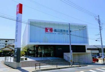 銀行 豊川信用金庫岡崎支店  徒歩6分。