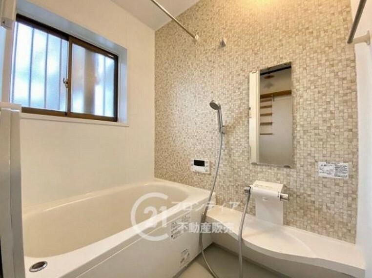 浴室 清潔感のある浴室