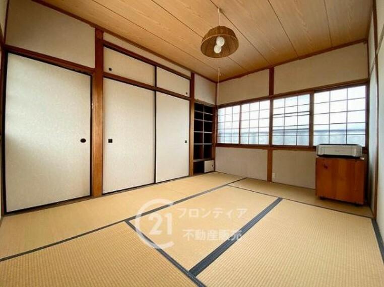 和室 畳が新調された和室