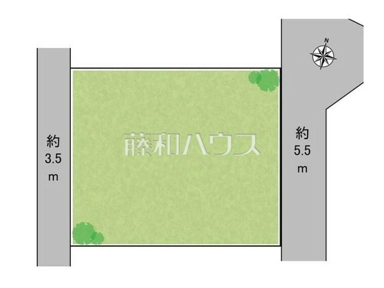 区画図 区画図 【所沢市大字下富】