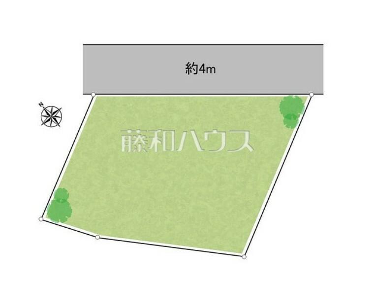 区画図 区画図 【所沢市林3丁目】