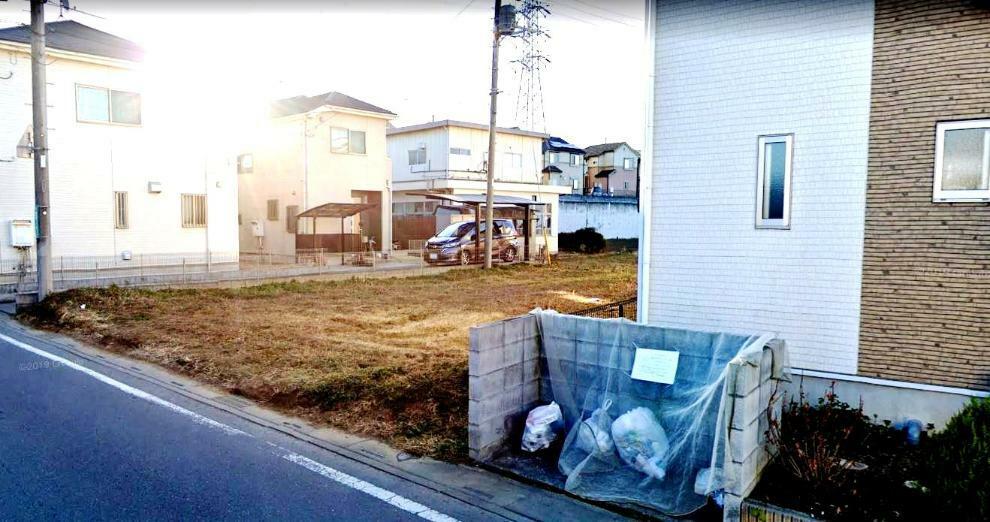 現況写真 公営水道・公共下水・都市ガス・東京電力