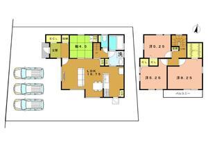 グリーンヒル天然木の家 (久世芝ケ原) 2区画分譲販売開始