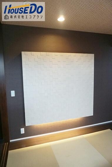 洋室 2階の主寝室には畳コーナーが設置されています  ドアで仕切ることによって、和室のように独立した部屋として使うことも可能です