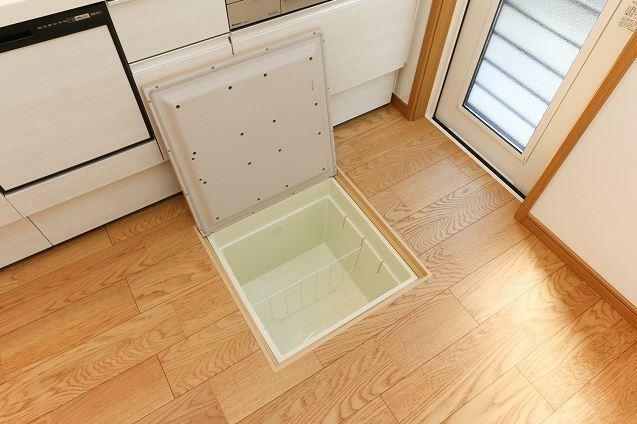 キッチン 床下収納あり