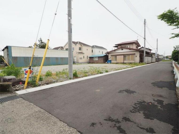 現況写真 前面道路2021.5撮影