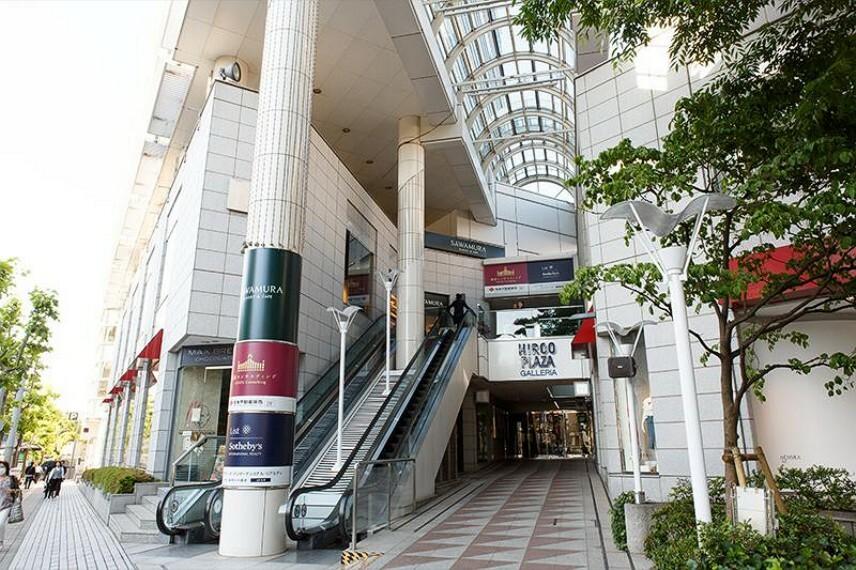 ショッピングセンター 【ショッピングセンター】広尾プラザまで629m