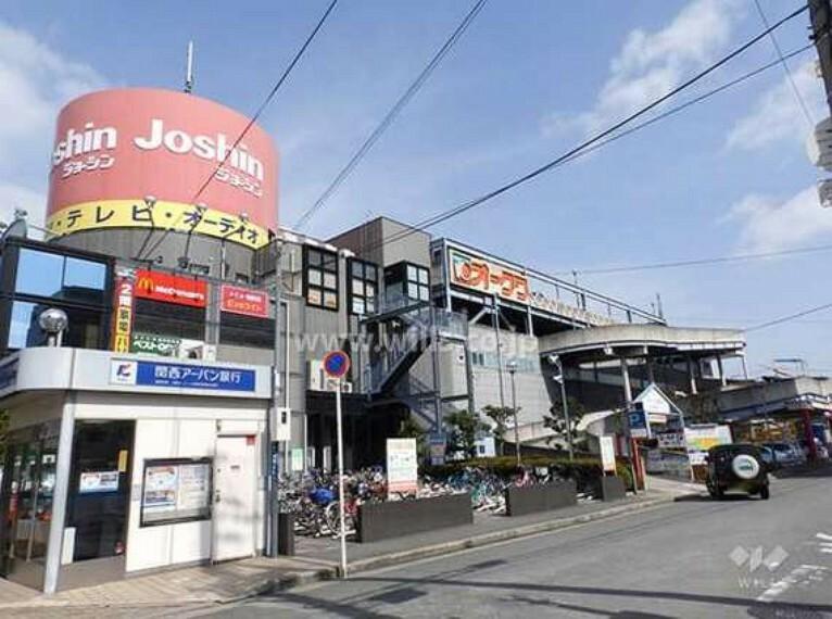 スーパー オークワ(南摂津駅前店)の外観