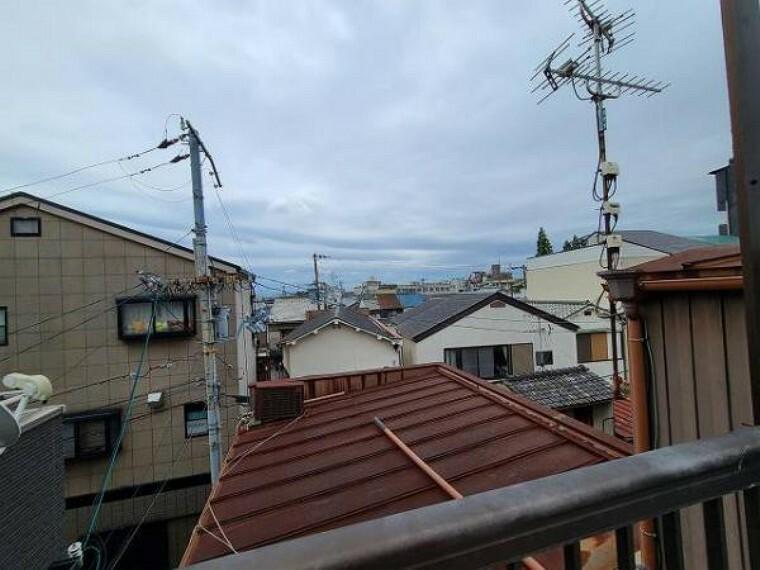 眺望 戸建が並ぶ街並みなので陽当りを遮られることはありません!