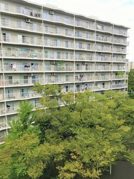 外観・現況 総世帯296戸のビッグコミュニティ