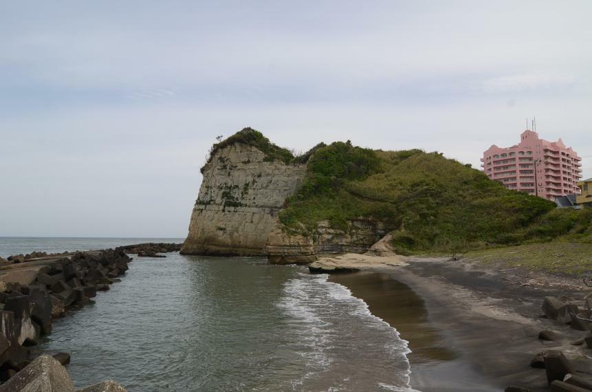 太東崎海岸の様子