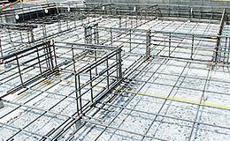 構造・工法・仕様 全戸の基礎の主筋に、16mm鉄筋を使用(通常13mm)