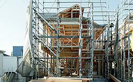 構造・工法・仕様 一棟一棟微妙に異なる資材までも、できる限りプレカットすることで住宅品質の均一化を図っています