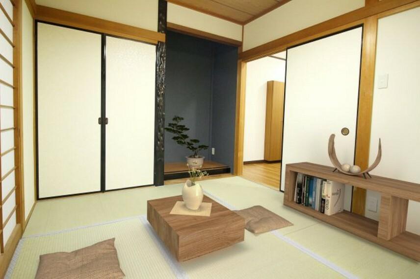 和室 2020年12月!室内全面リフォーム完了しました! 現地ご案内予約受付中です  ※配置してある家具はCGによるイメージです