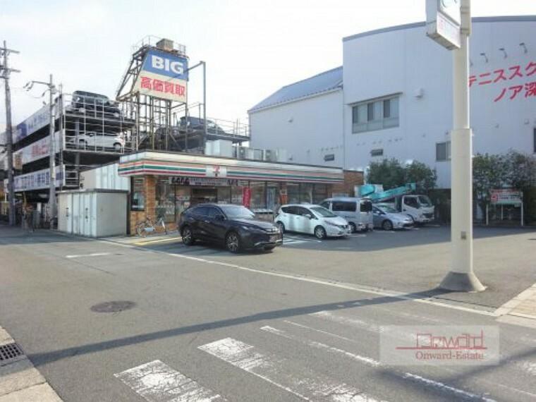 コンビニ 【コンビニエンスストア】セブンイレブン 大阪諏訪4丁目店まで200m