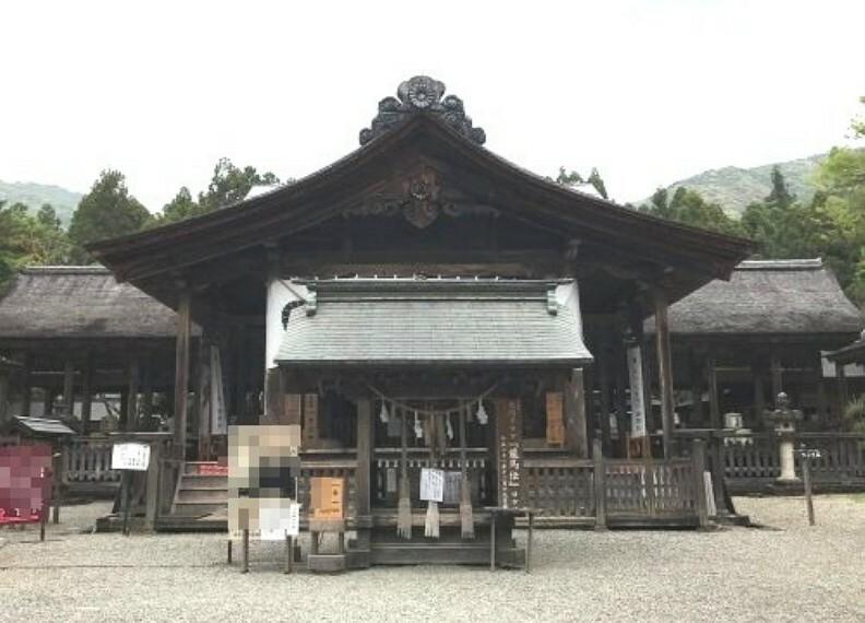 【寺院・神社】土佐神社まで872m