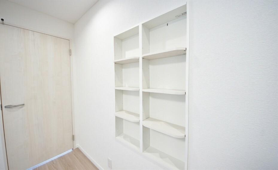 収納 見せる収納で居室はすっきり。