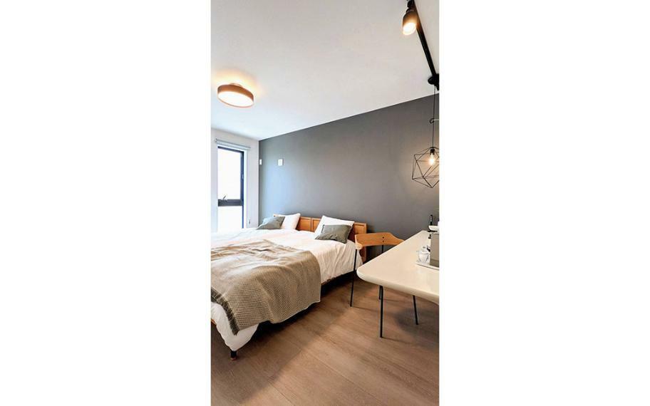 同仕様写真(内観) 施工例■主寝室はダブルベットもゆったり置くことができる広さ。