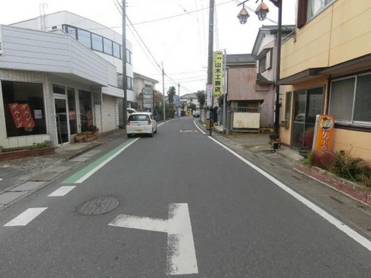 現況写真 前面道路幅員は約6mになります。