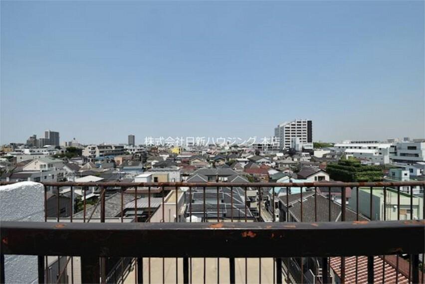 現況写真 6階部分、最上階からの眺望
