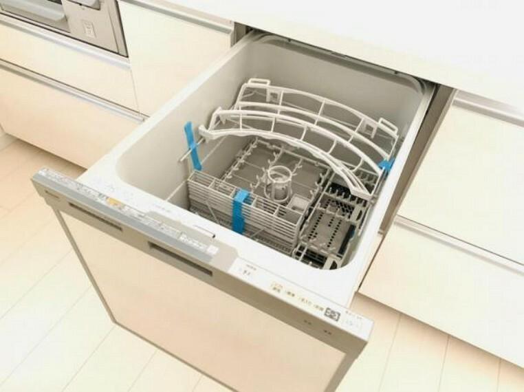 忙しい家事の時短・節水にもなる食洗機付き!