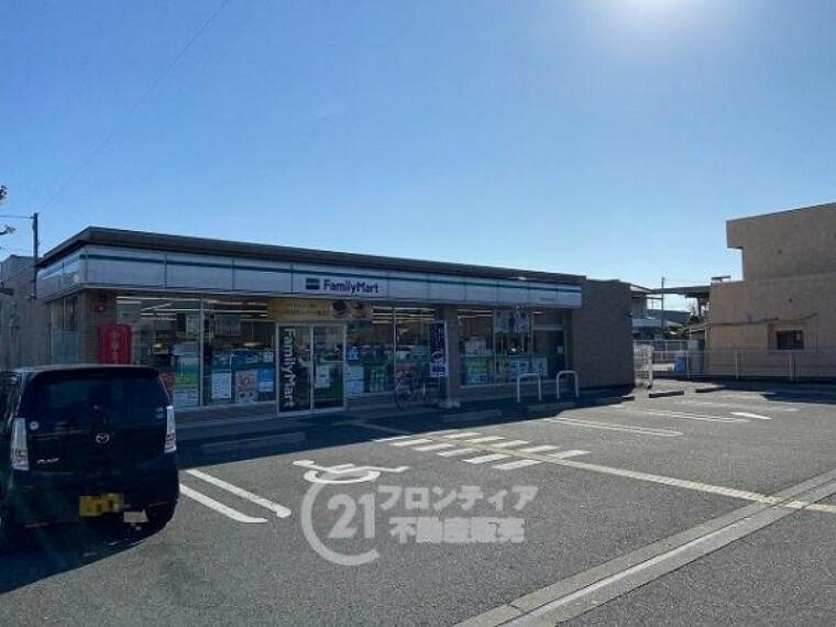コンビニ ファミリーマート 奈良大安寺店
